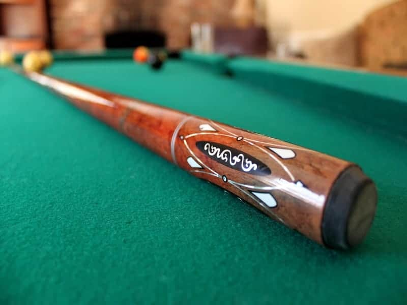 6 tips; ideal 1st cue for child or for tight snooker cues 2 x 36 inch pool